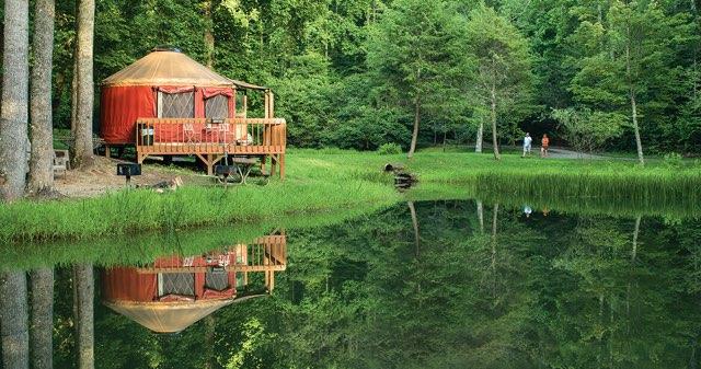 Falling Waters Yurts