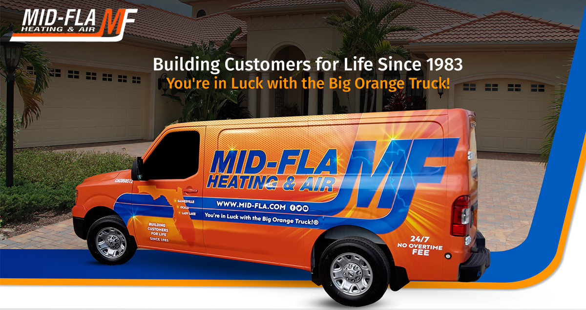 Mid-Florida Heating & Air banner backdrop
