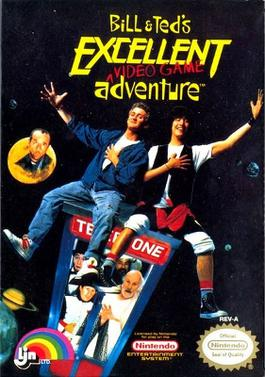 Bill & Ted's Excellent Video Game Adventure banner backdrop