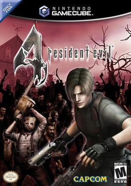 Resident Evil 4 banner backdrop