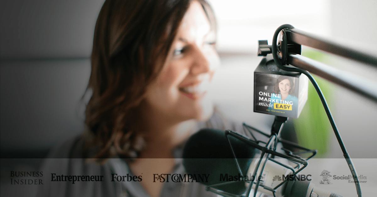 List item Amy Porterfield Podcast - Amy Porterfield   Online Marketing Expert image