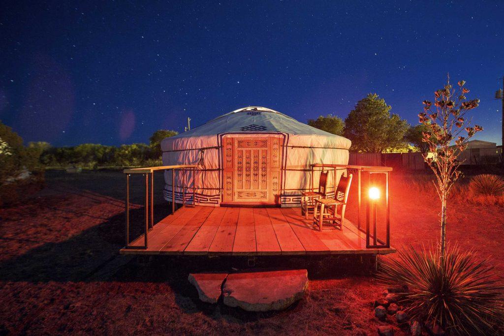 List item El Cosmico Yurt image